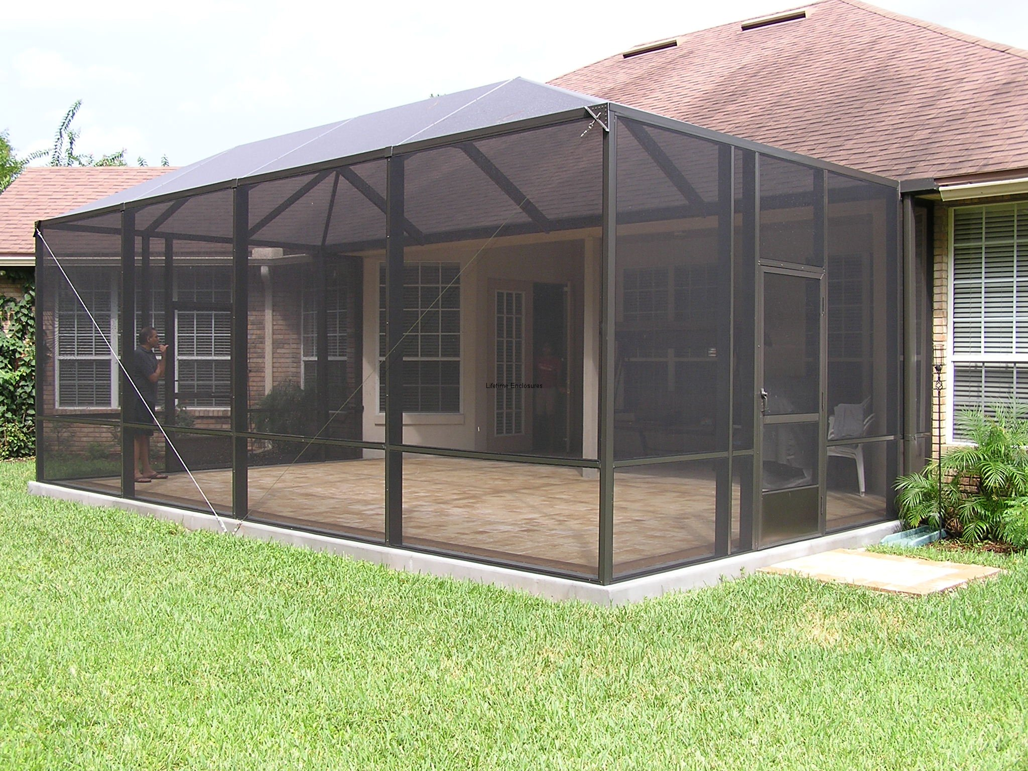Design a screened in patio joy studio design gallery best design Screened porch plans designs