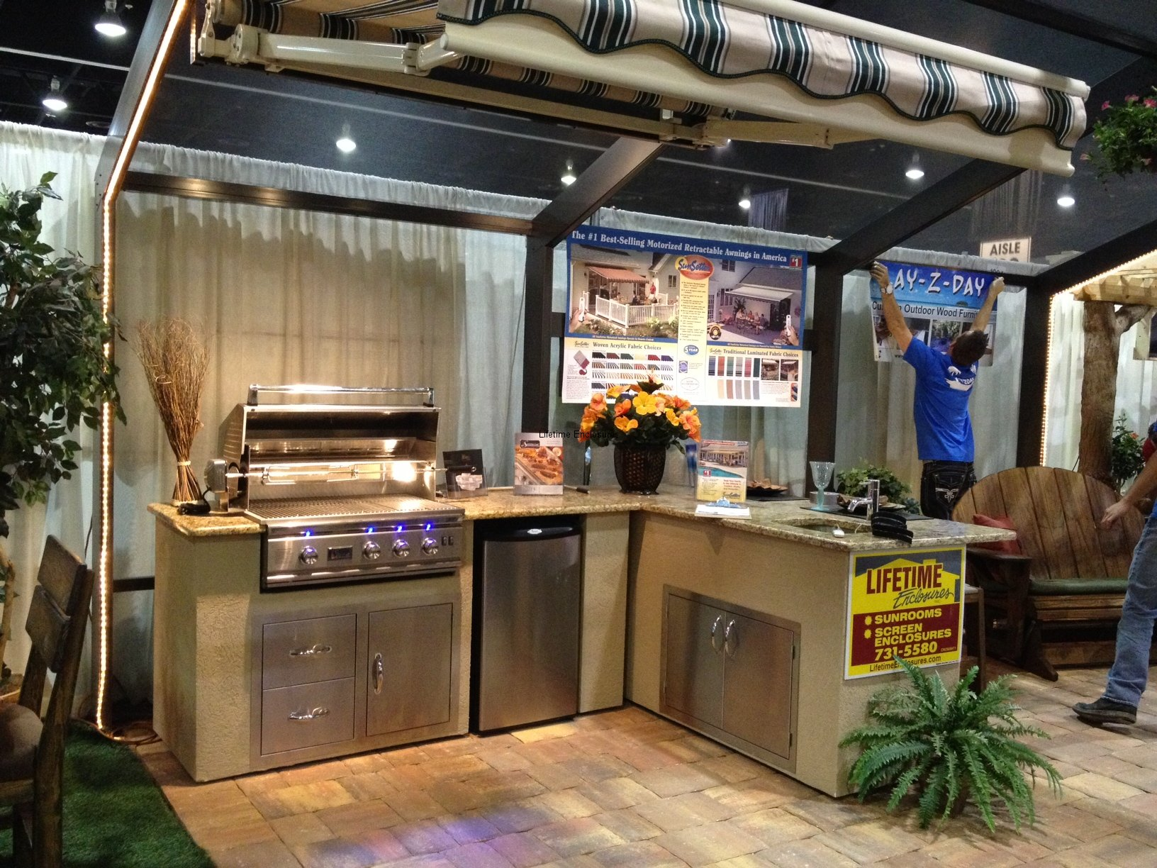Outdoor Kitchen Outdoor Kitchens Lifetime Enclosures