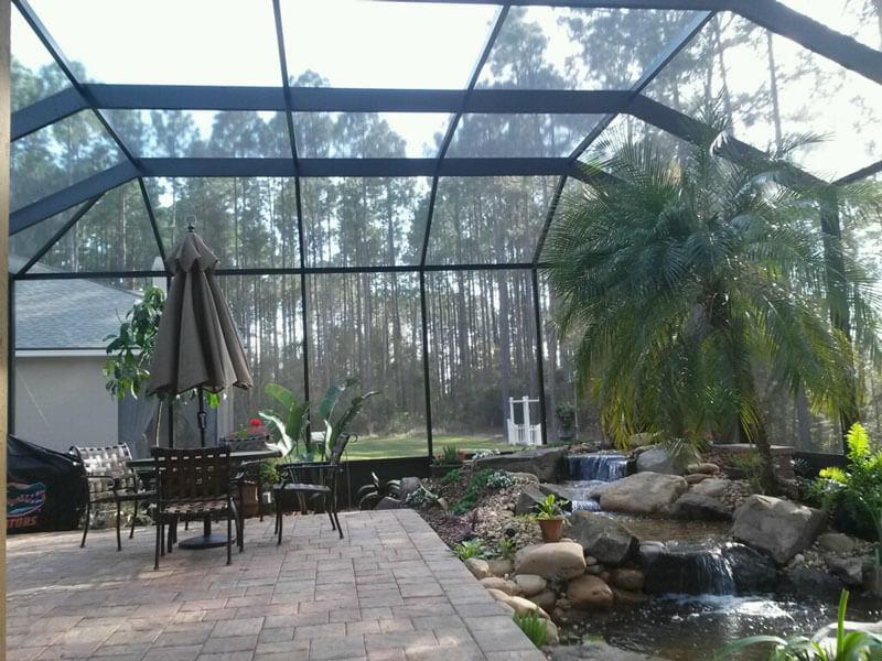 screen enclosures 35