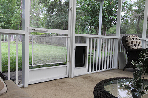 Lanai Conversion - Pet Doors