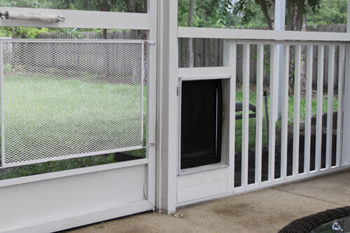 Screen Enclosure - Pet Doors