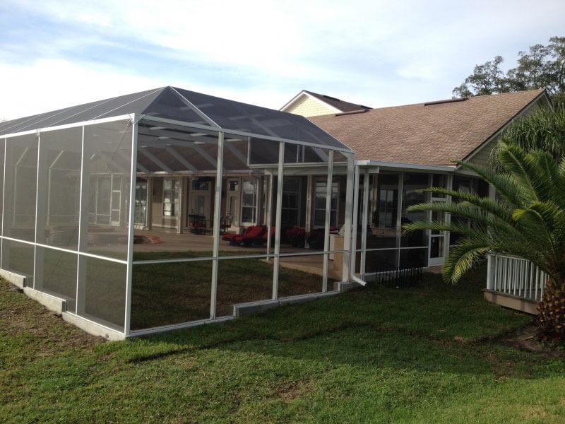 screen enclosures 18