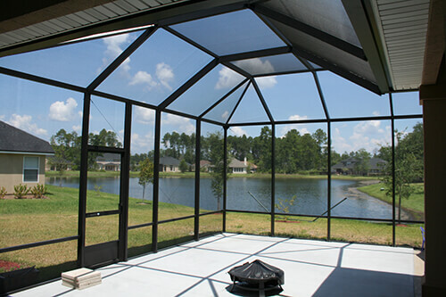 Screen Enclosure - Screened Roof