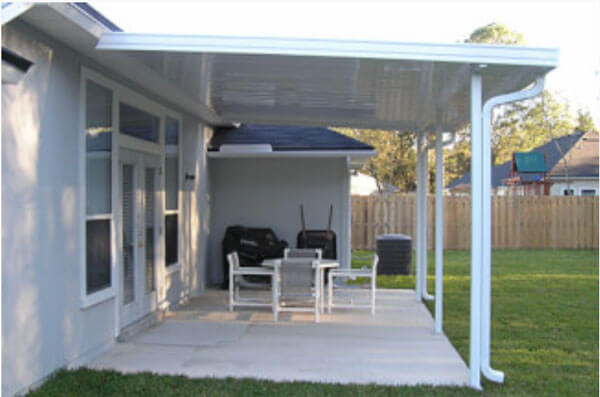awnings awning with truck white nc carport carports aluminum