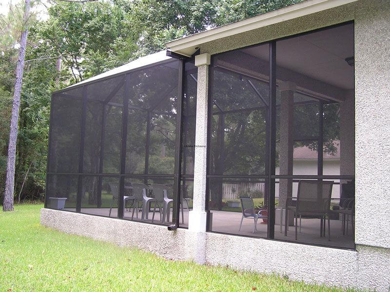screen enclosures 10