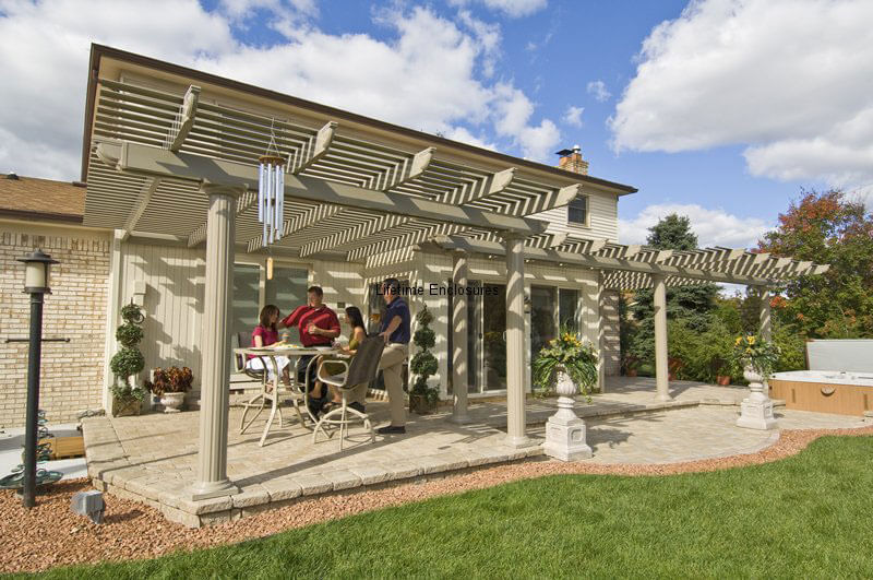Pergolas Portfolio Lifetime Enclosures