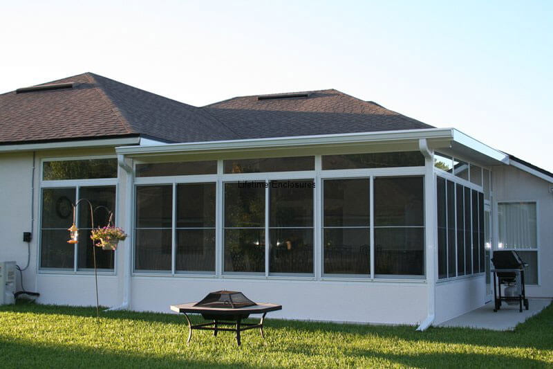 Sunrooms Amp Solariums Lifetime Enclosures