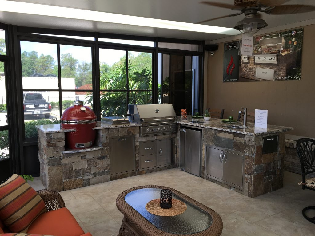 Outdoor Kitchens Lifetime Enclosures